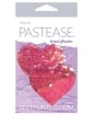 Pastease Color Changing Flip Sequins Heart - Pink O/S