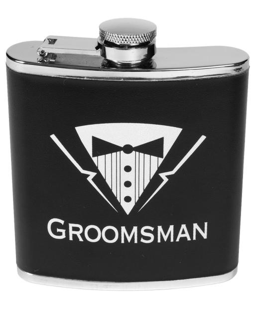Bachelor Party Groomsman Flask