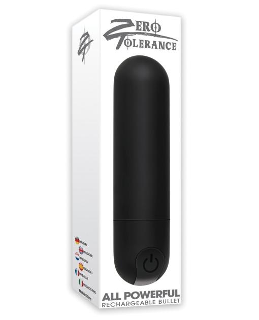 Zero Tolerance All Powerful Rechargeable Bullet