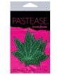 Pastease Glitter Marijuana Leafs - Green O/S