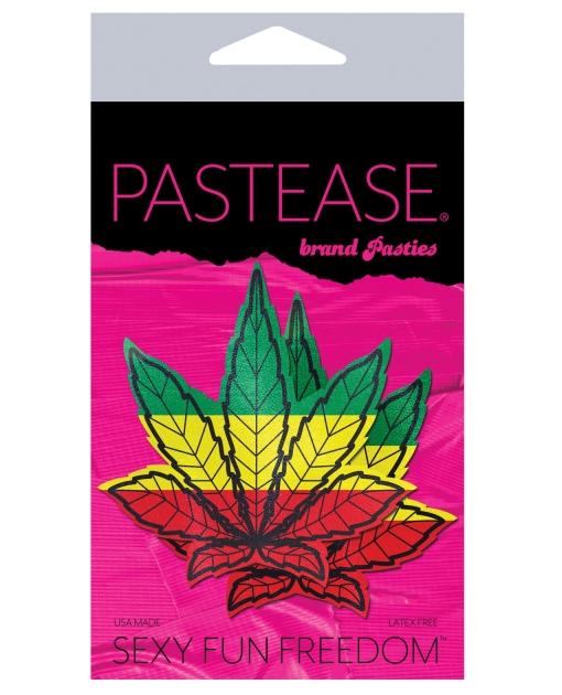 Pastease Marijuana Leafs - Rasta O/S