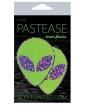 Pastease Glitter Alien - Purple/Green O/S