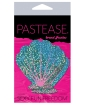 Pastease Glitter Shell - Seafoam Green and Pink O/S