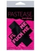 Pastease Fuck Me Plus - Black/Pink O/S