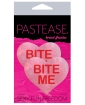 Pastease Bite Me Heart - Pink/Red O/S