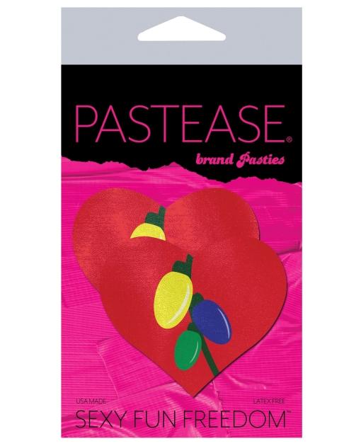 Pastease Christmas Light Bulbs Heart - Mutlicolor O/S