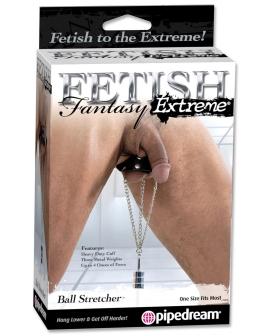 Fetish Fantasy Extreme Ball Stretcher - Black