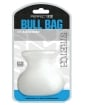 """Perfect Fit Bull Bag 1.5"""" Ball Stretcher - Clear"""