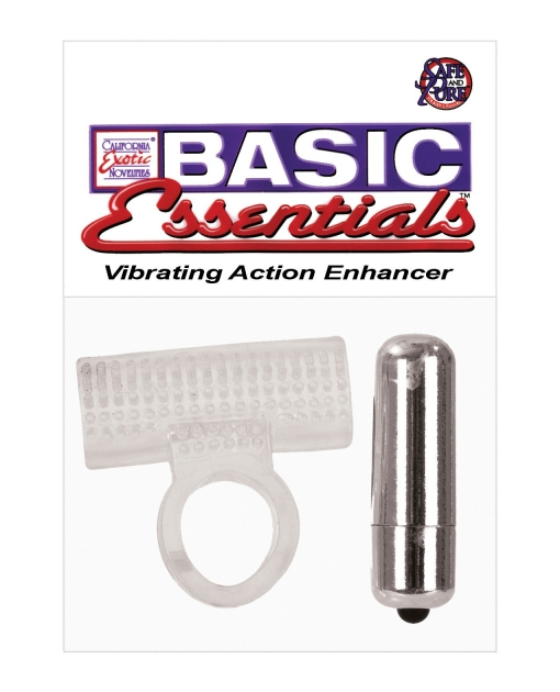 Basic Essentials - Vibrating Action Enhancer