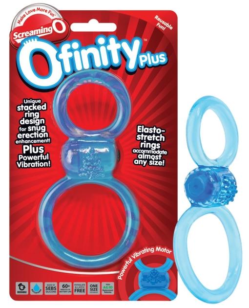 Screaming O Ofinity Plus - Blue