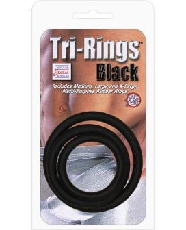 Tri-Rings - Black