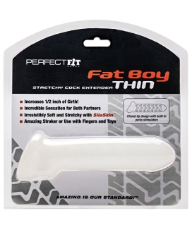 Perfect Fit Fat Boy Thin - Clear