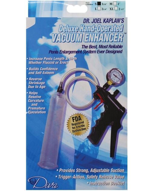 "Dr. Joel Kaplan Small Male Enlargement Pump System 1.75"" I.D."