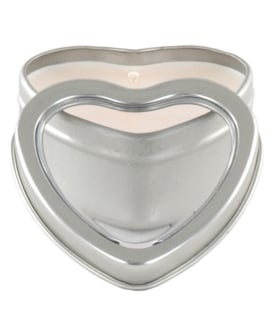 Mini Heart Pheromone Candle - Vanilla