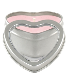 Mini Heart Pheromone Candle - Strawberry
