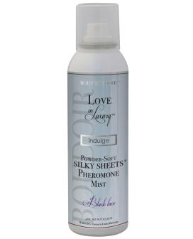 Love in Luxury Pheromones Silky Sheets Mist - Black Lace
