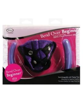 Tantus Bend Over Beginner PPA w/Harness - Purple
