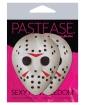 Pastease Scary Halloween Hockey Mask - White O/S