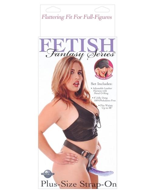 Fetish Fantasy Series Plus Size Strap-On