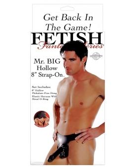 "Fetish Fantasy Series Mr. Big Hollow 8"" Strap-On"