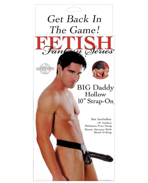 "Fetish Fantasy Series Big Daddy Hollow 10"" Strap-On"