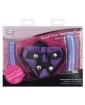 Tantus Bend Over Intermediate PPA w/Harness - Purple