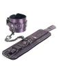 Spartacus Galaxy Legend Faux Leather Wrist Restraints - Purple