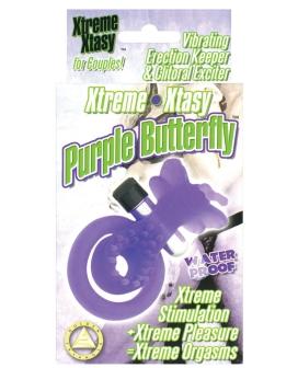 Xtreme Xtasy Butterfly Waterproof - Purple