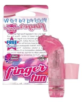 Waterproof Finger Fun - Pink