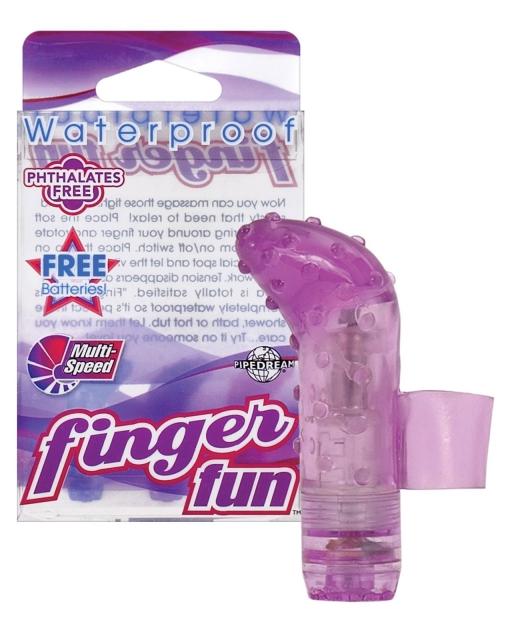 Waterproof Finger Fun - Purple