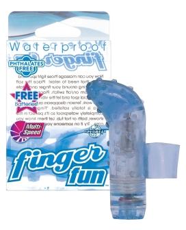 Waterproof Finger Fun - Blue