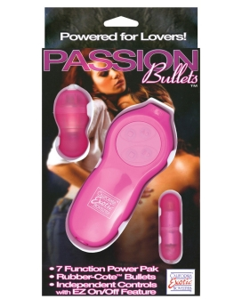 Passion Bullets Slim Bullet & Mini Probe Bullet - Pink