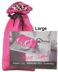 Sugar Sak Anti-Bacterial Toy Bag Large - Pink