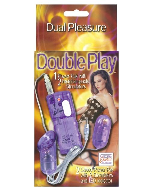 Double Play Bullet - Purple