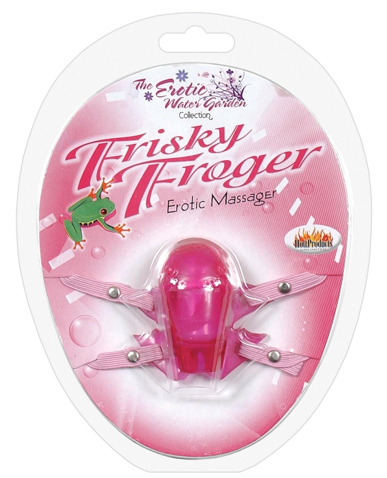 Frisky Frogger w/Adjustable Straps