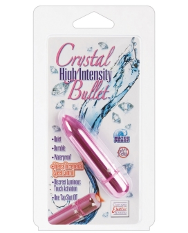 Crystal High Intensity Bullet - Pink