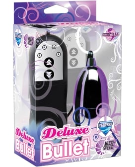 Deluxe Bullet Waterproof Vibe - Multi Speed Purple