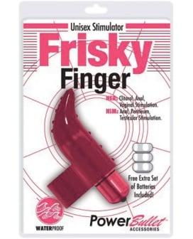 Frisky Finger Unisex Stimulator - Pink