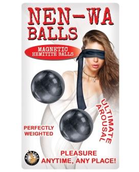 Nen-Wa Balls Magnetic Hemitie Balls - Graphite