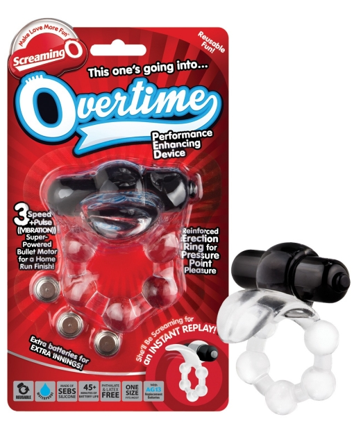 Screaming O The Overtime - Black
