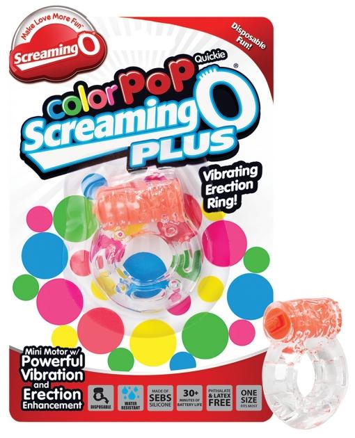 Screaming O Color Pop Quickie O Plus - Orange