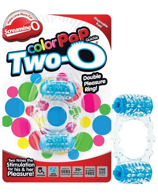 Screaming O Color Pop Quickie Two-O - Blue