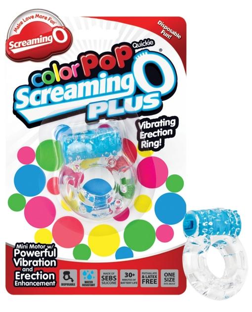 Screaming O Color Pop Quickie O Plus - Blue