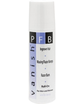 PFB Vanish Roll on Shaving Gel - 4 oz