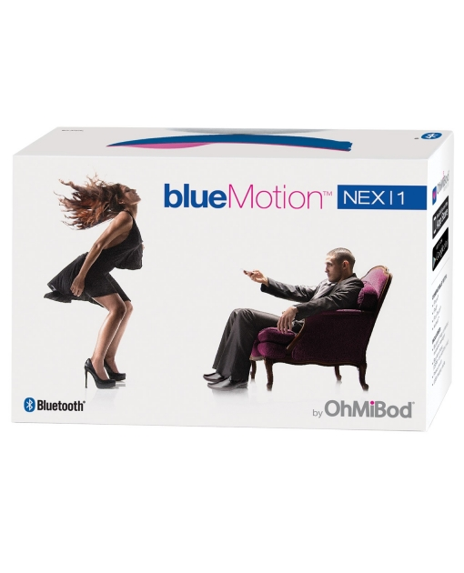 OhMiBod NEX 1 Blue Motion Bluetooth Panty Vibrator