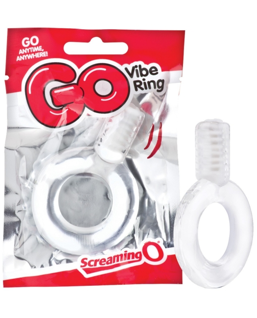 Screaming O GO Vibe Ring - Clear