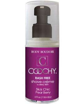 Coochy Rashfree Shave Creme - 4 oz Pear Berry