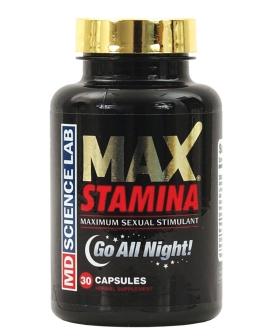 Max Stamina - Bottle of 30 Capsules