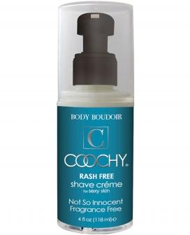 Coochy Rashfree Shave Creme - 4 oz Fragrance Free