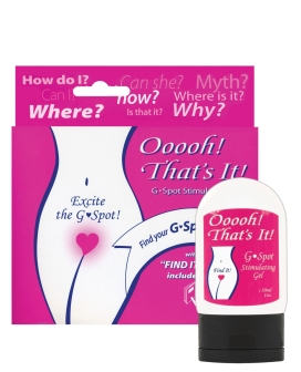 Ooooh That's It G-Spot Stimulating Gel